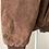 Thumbnail: Giacca scamosciata con motivo geometrico