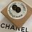 Thumbnail: ORECCHINO NERO CHANEL PICCOLO