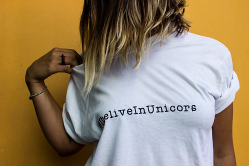#IBELIEVEINUNICORNS TEE