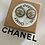 Thumbnail: ORECCHINI TONDI ARGENTO/BIANCO CHANEL