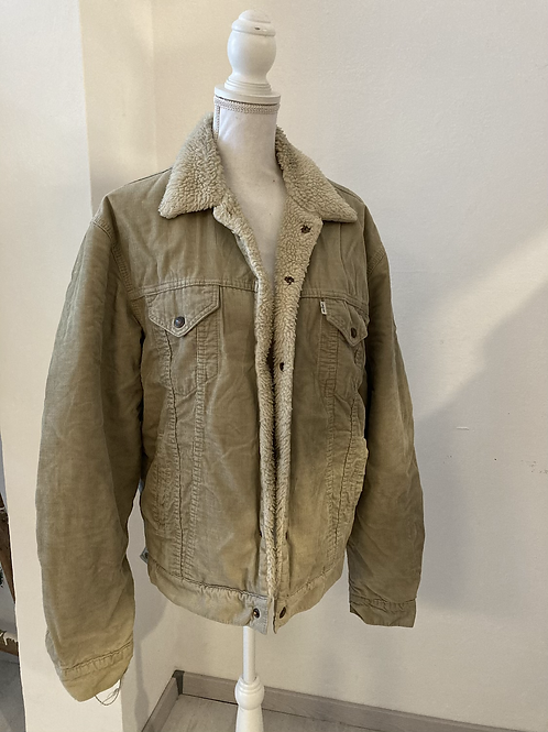 GIACCA SHEARLING LEVIS TG.XL