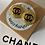 Thumbnail: ORECCHINI CHANEL TONDI NERO/ORO
