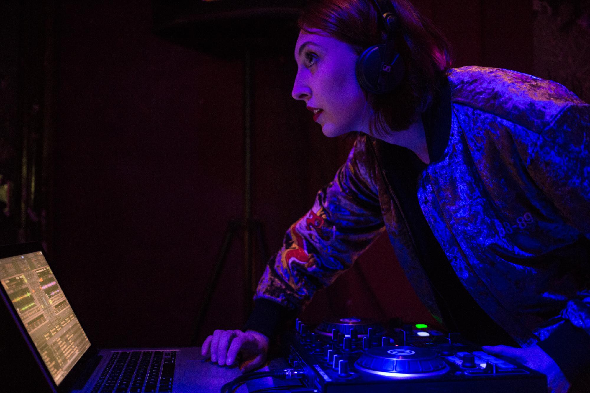 Evento de mulheres na música