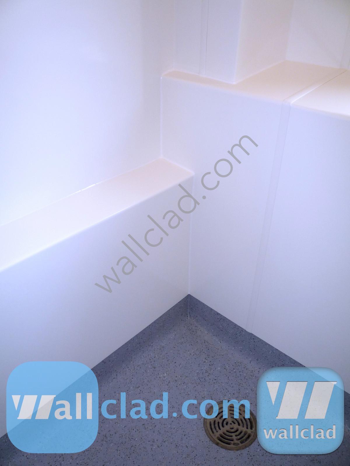 Wet Room Boxing Encapsulation | Wallclad.com Buy Now | Hygienic Wall ...