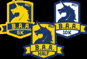 B.A.A. 5k, half marathon, 10k