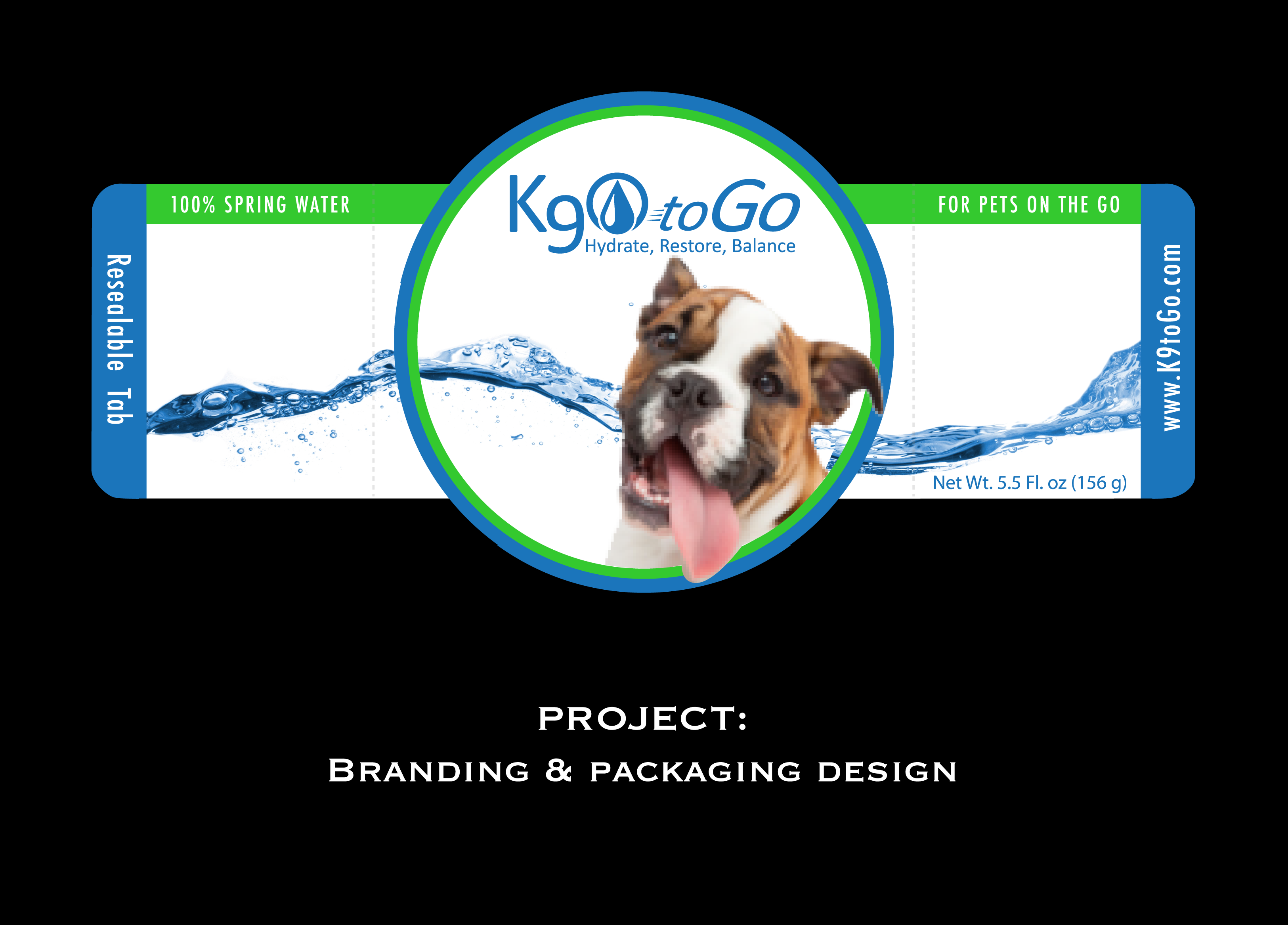 K90 to Go Packaging