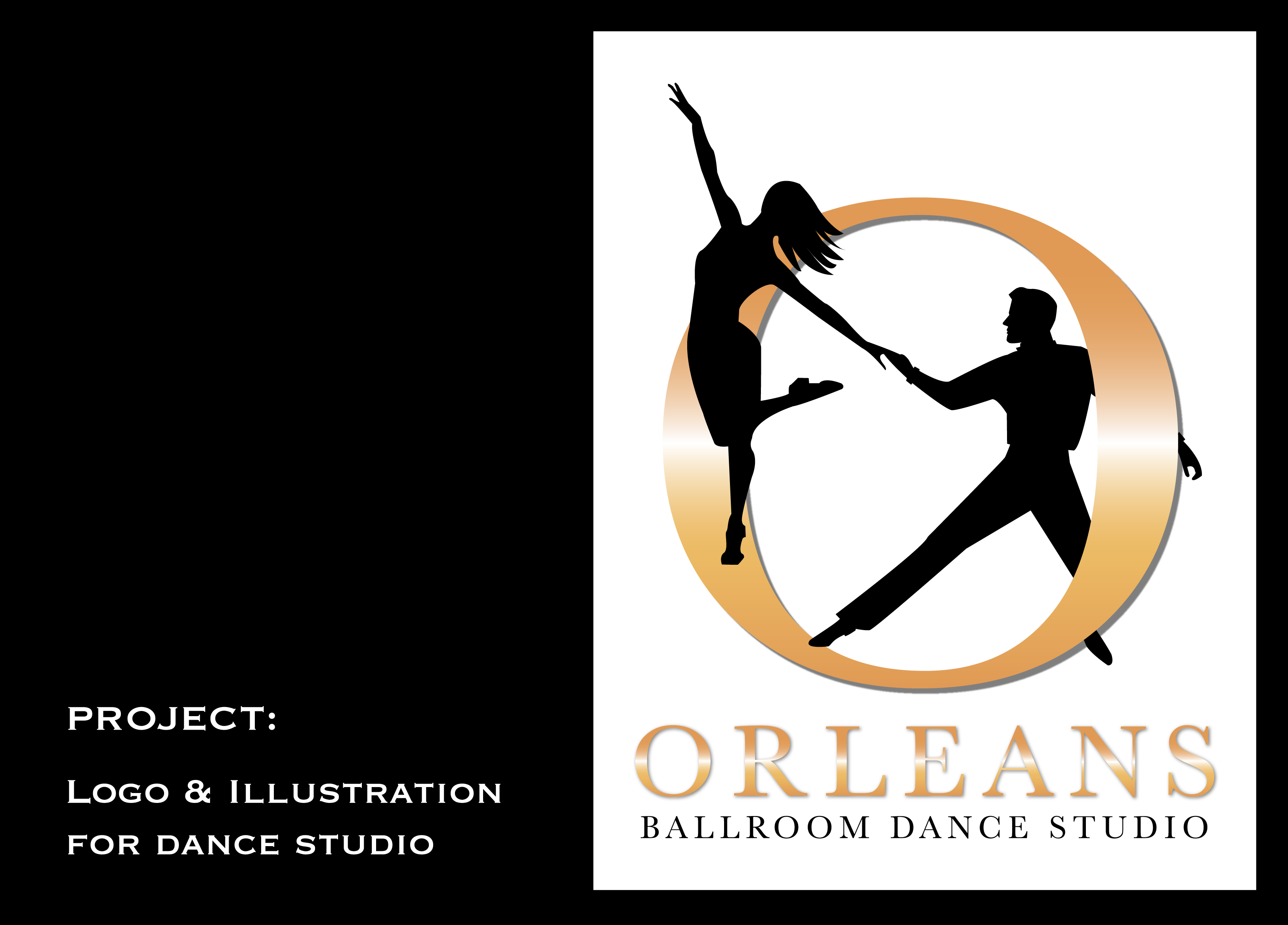 Logo design for dance studio