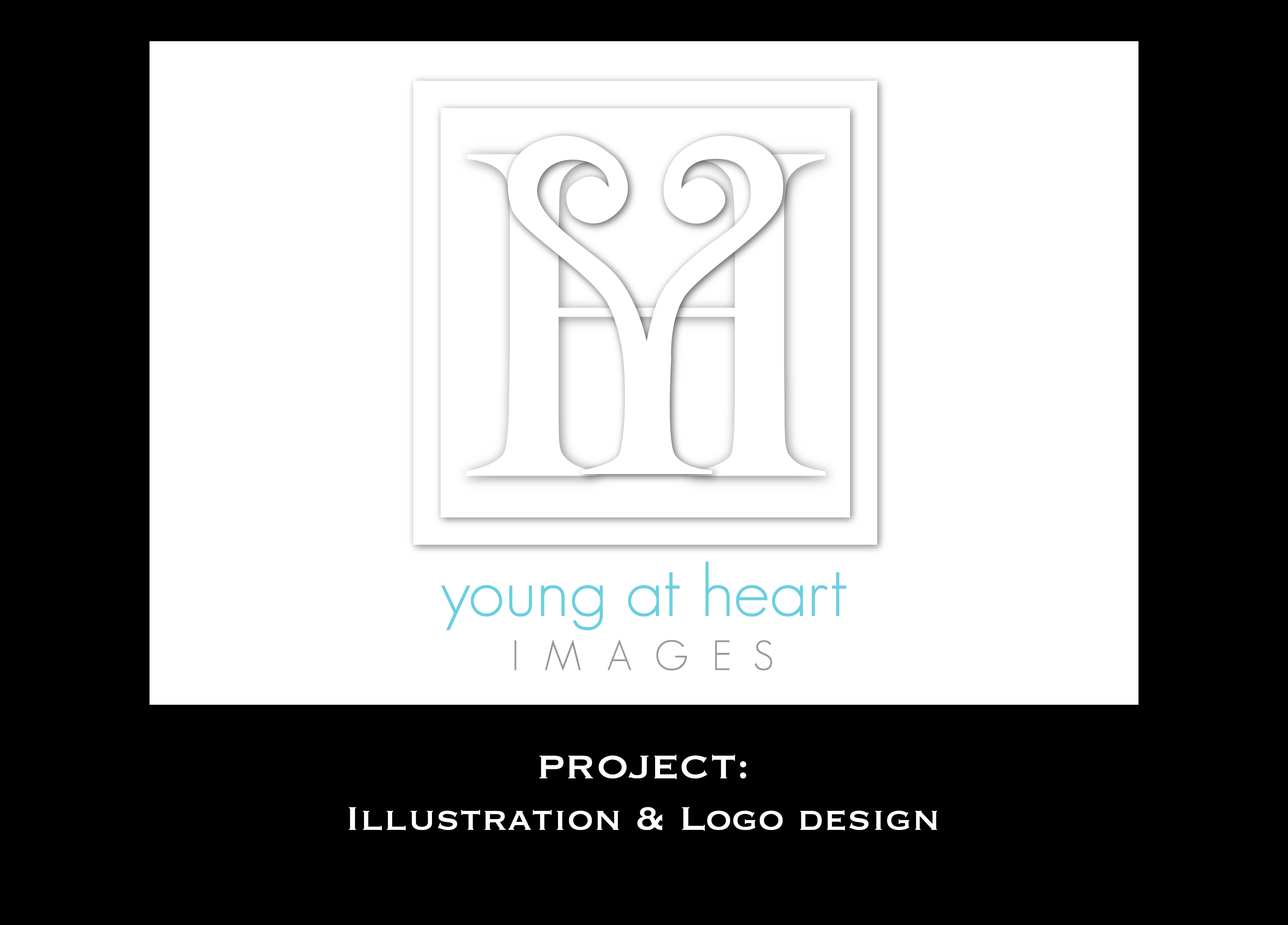 Young at Heart logo design