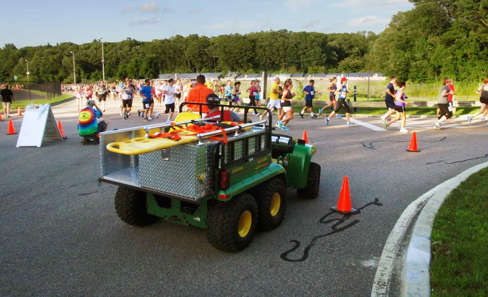 Gators at the race