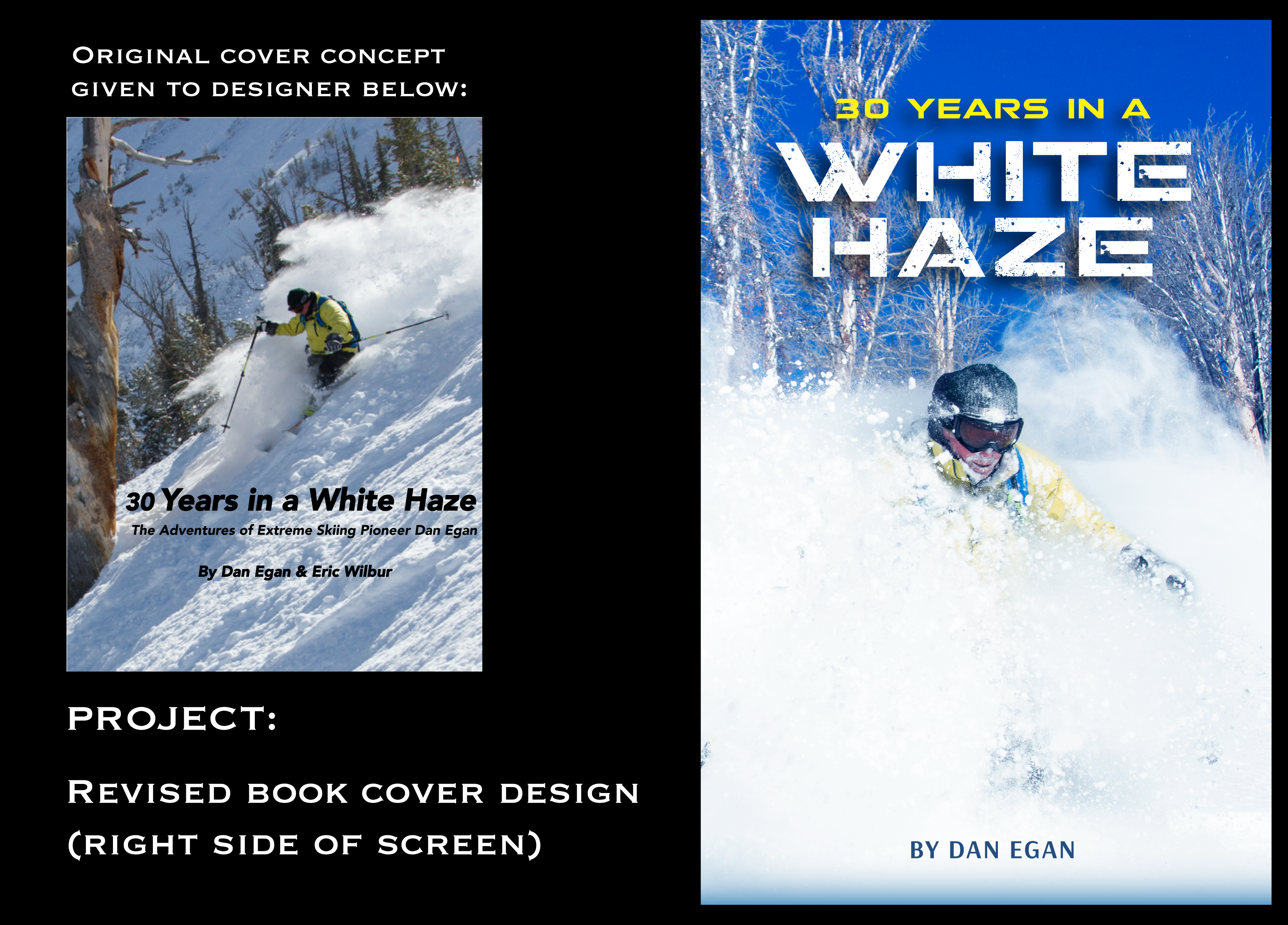 White Haze book cover redesign