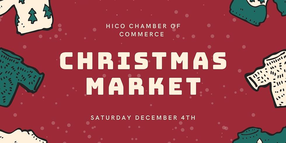 Christmas Market Vendor Spots