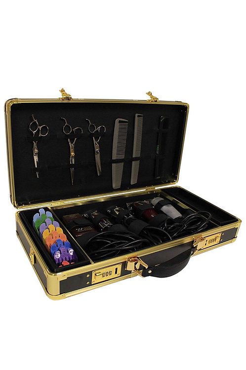 Gold barber case