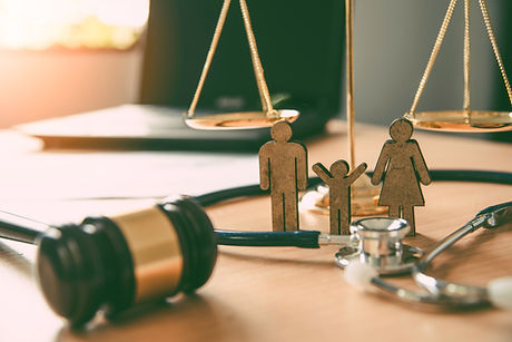 Lawyer Scales Justice - Family Law