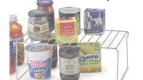 Soluções para organizar despensas pequenas