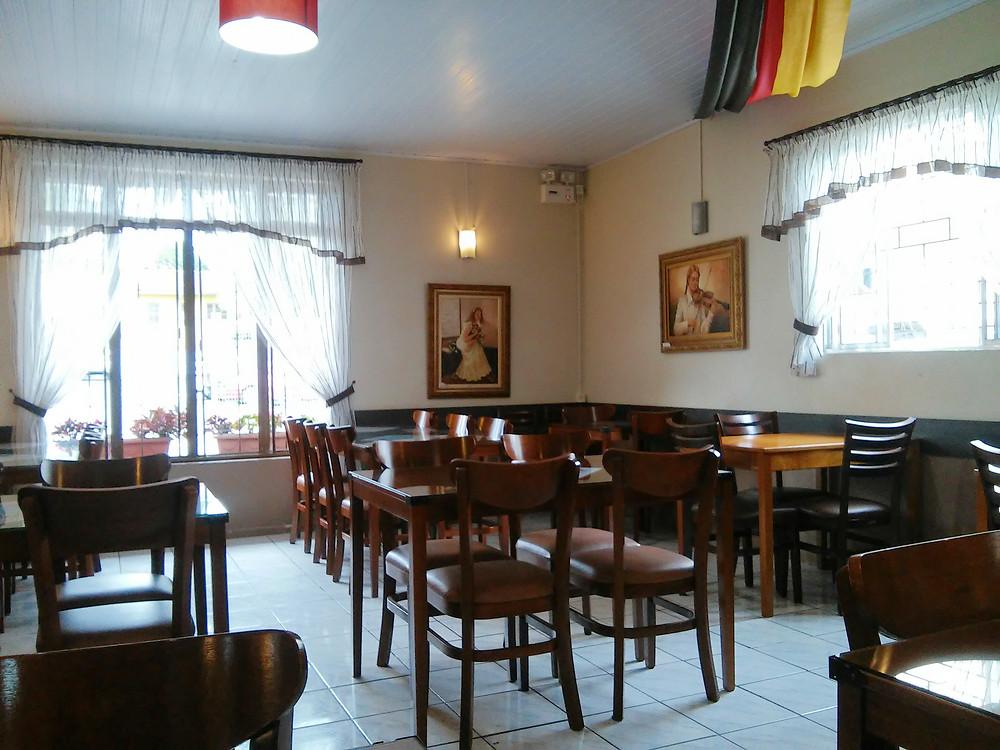 Ambiente interno do restaurante