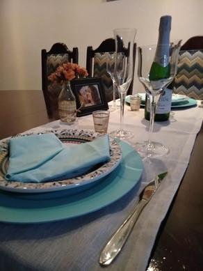 Que tal um jantar romântico EM CASA?