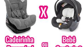 Poltrona Reversível ou Bebê conforto?