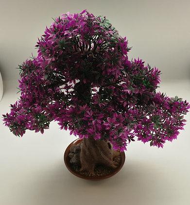 Purple Bonsai Tree (38cm)