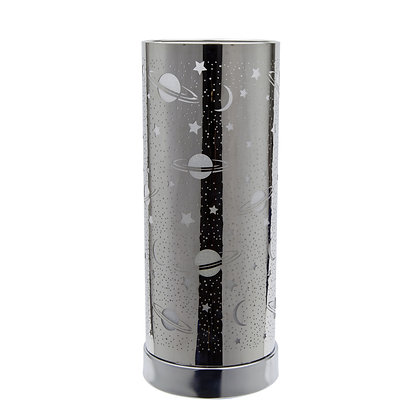 White-Silver Universe Touch Lamp (Case of 6) Unit Price £8.95