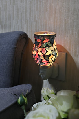 Pastels Flower Tulip Mosaic Wax Warmer