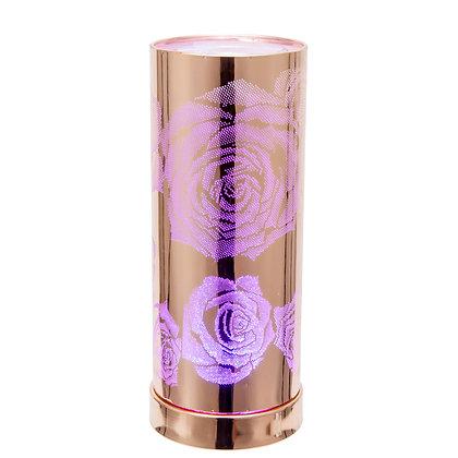 LED Colour Changing Burner (Rose Gold Rose)
