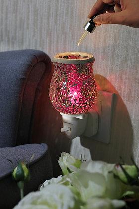 Rose Pink Mosaic Wax Warmer (Case of 12) Unit Price £5.95