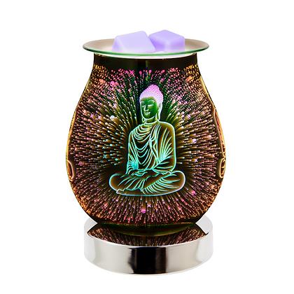 Buddha 3D Lamp Silver Base (Case of 12) Unit Price £11.95