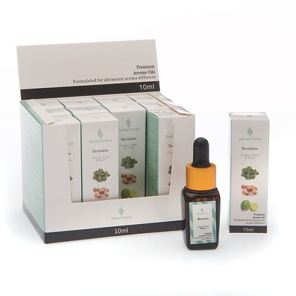 Revitalise Premium Fragrance Oil  10ml (Case of 12) Unit Price £1.75