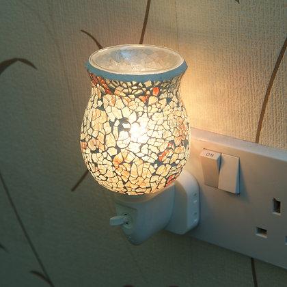 Golden Mosaic Plug-in Wax Warmer(Case of 6) Unit Price £5.95