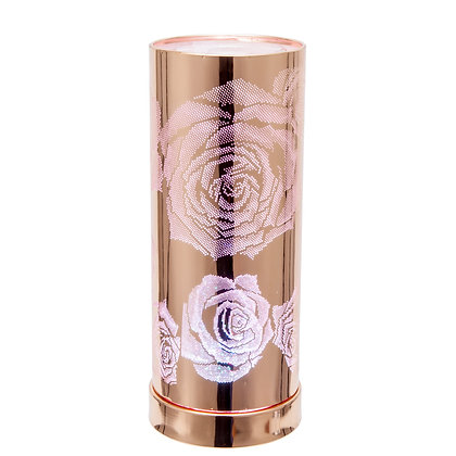 Colour Changing Wax Burner - R. Gold Rose (Case of 6) Unit Price £12.95