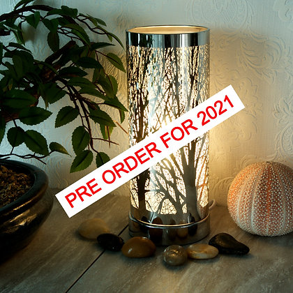 Silver LED Aroma Lamp (Case of 6) Unit Price £11.95