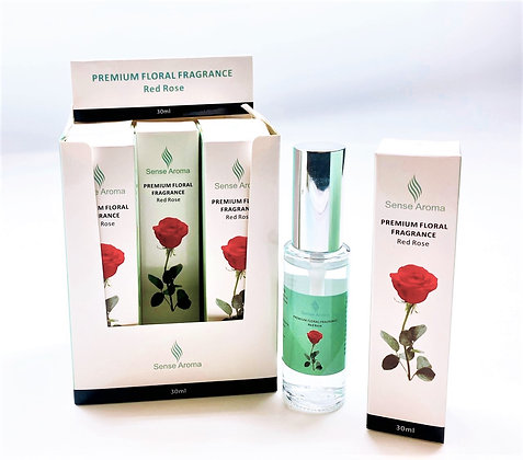 Rose Fragrance Spray 30 ml Case of 6 (Unit Price 1.95)