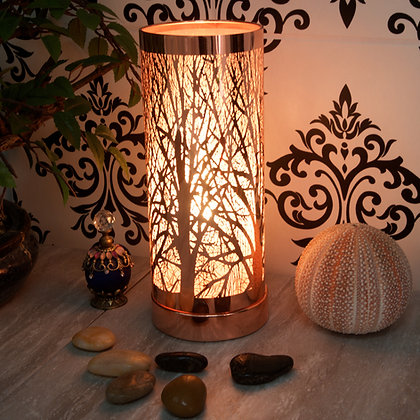 Rose Gold White Aroma Touch Lamp