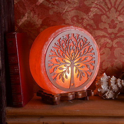 Tree Salt Lamp ( 23 cm High)