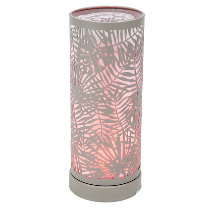 Colour Changing Wax Burner - Grey Fern (Case of 6) Unit Price £12.95