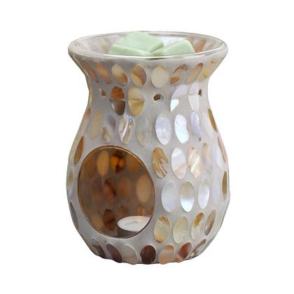 Natural Almond Tealight Burner (Case of 6) Unity Price £6.95