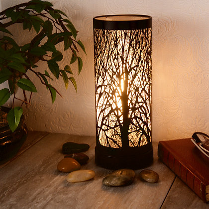White Black Aroma Touch Lamp(Case of 6) Unit Price £8.95