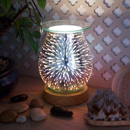 Fireworks 3D Burner(Oak Base)