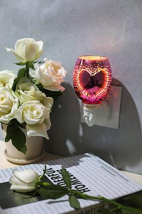 Heart 3D Plug in Warmer