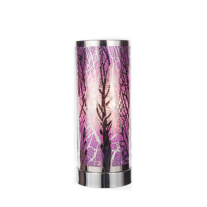 Purple Silver Aroma Touch Lamp(Case of 6) Unit Price £8.95