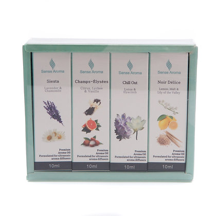 Premium Fragrance Oil Gift Set (Case of 12) Unit Price £5.40