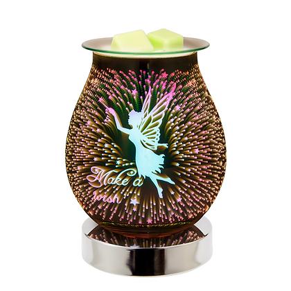 Fairy 3D Lamp Silver Base (Case of 12) Unit Price £11.95