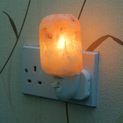 Natural Plug - in Salt Lamp (13 cm)