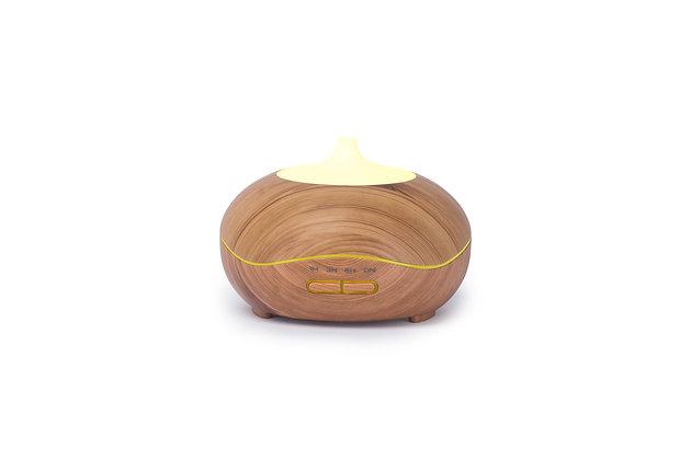 Oak Curve Aroma Diffuser (300ml), (12cm)