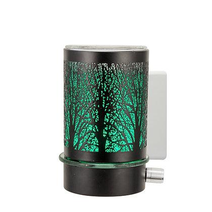 Black Tree LED Plug In