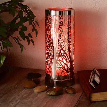 Deep Orange Aroma Touch Lamp