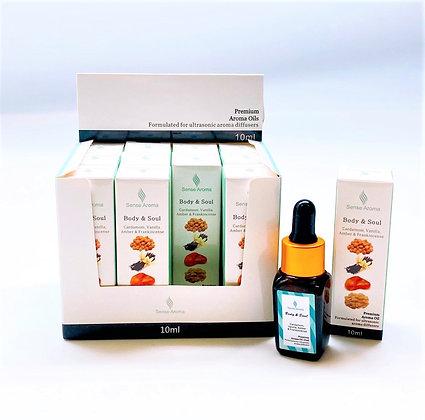 Body & Soul Fragrance Oil  10ml (Case of 12) Unit Price £1.75