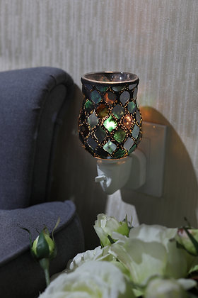Twilight Moroccan Tulip Mosaic Wax Warmer(Case of 12) Unit Price £5.95