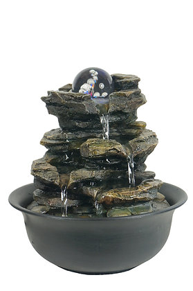 Heart of Nature Fountains 20x20x22(H)cm
