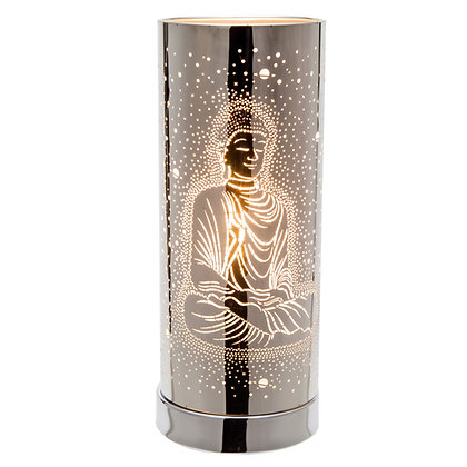 White Buddha Touch Lamp